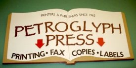 Petroglyph Press: Printing, Fax, Copies, Labels.